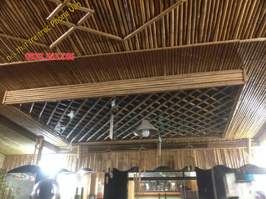 Ốp trúc trang trí nội thất