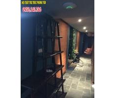 Trang trí ốp trúc spa Hàng Bông