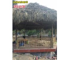 Thi Công Nhà Tre Mái Lá resort Quảng Ninh