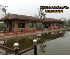 Nhà tre mái lá tại Resort Hải Dương