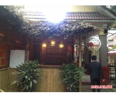 Thiết kế thi công nhà tre mái lá cho nhà hàng
